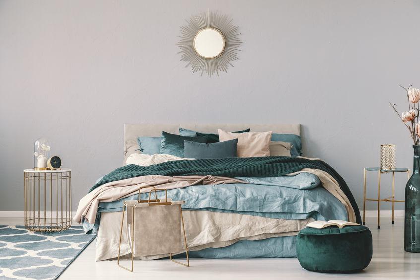 arredare la camera da letto con un tappeto