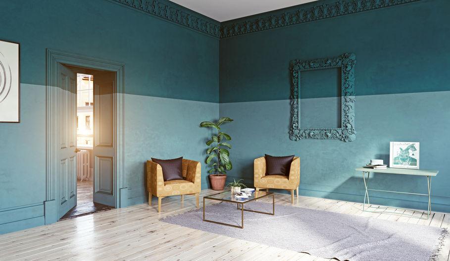 Color block: tecnica per decorare pareti e soffitti