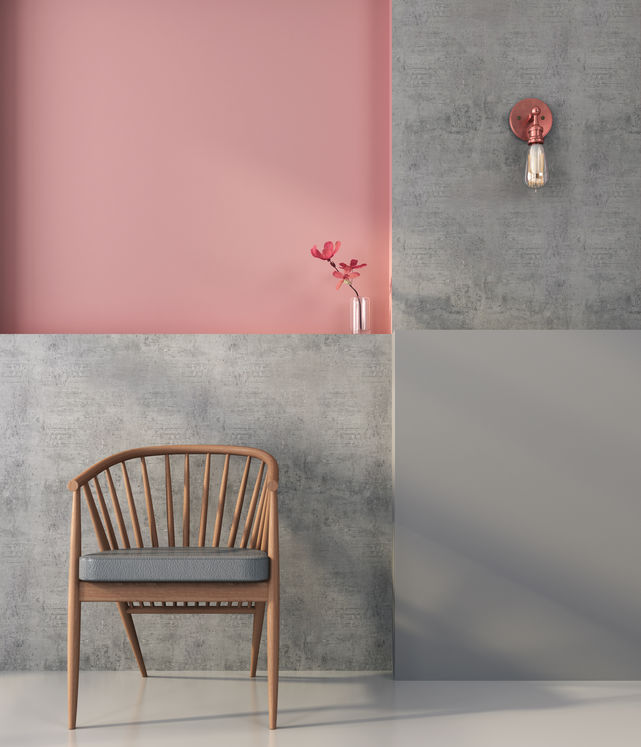 Decorare i muri di casa con il color block