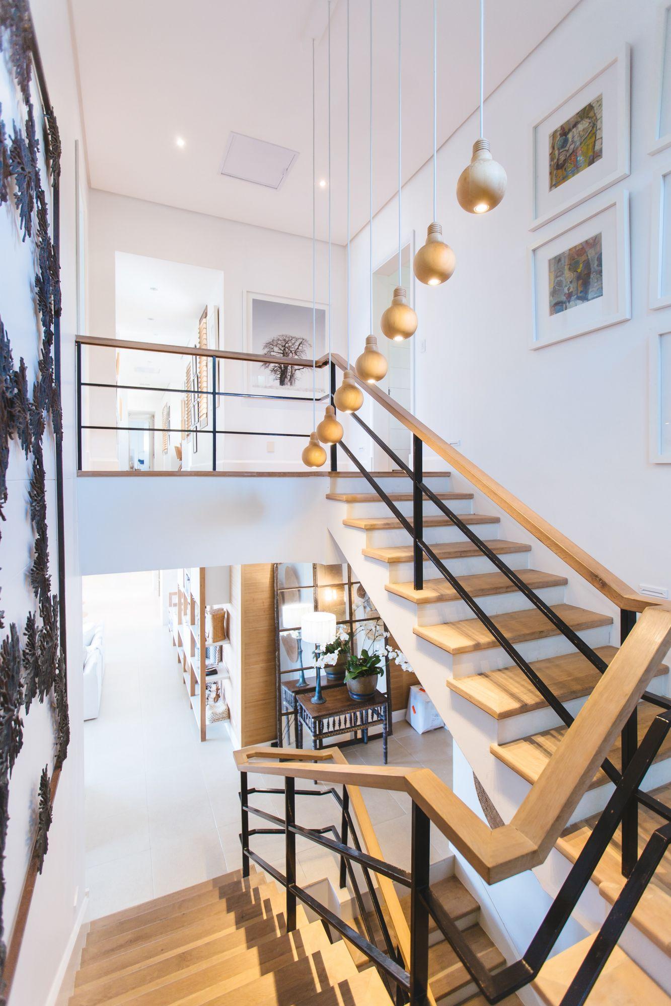 Scale in casa in legno