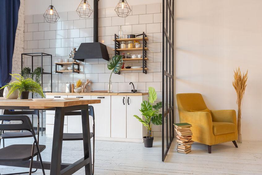 Pied-à-terre con soggiorno e area relax