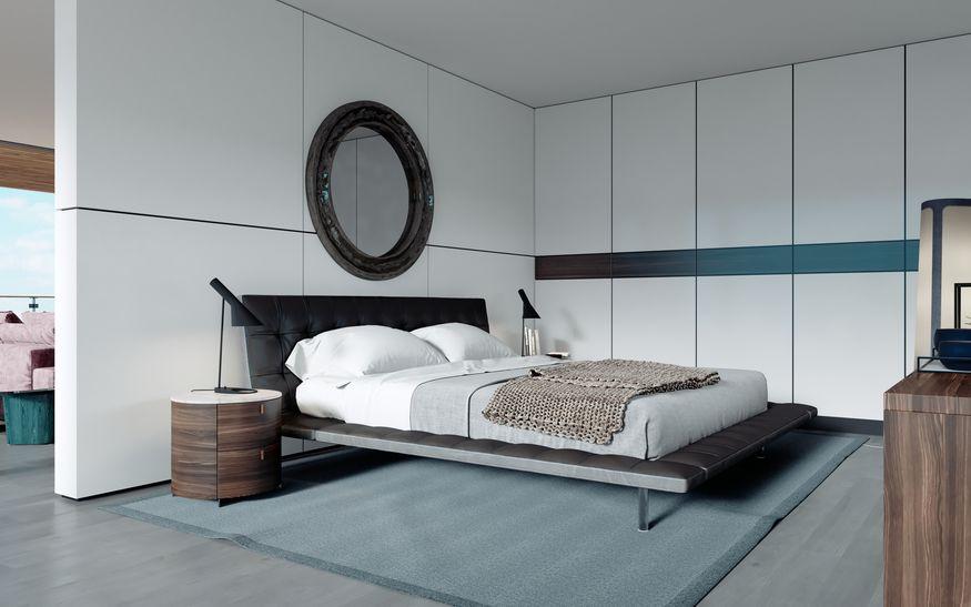 specchi rotondi per camera da letto