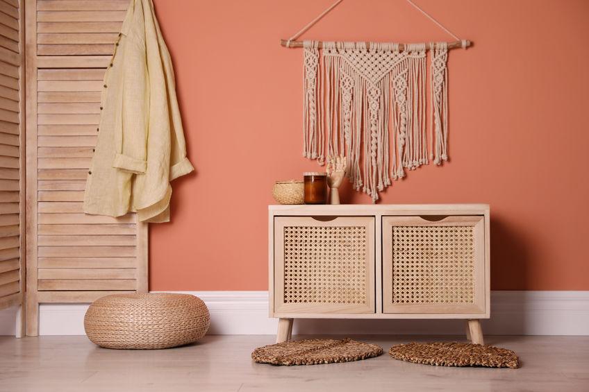 arredare casa con colori caldi