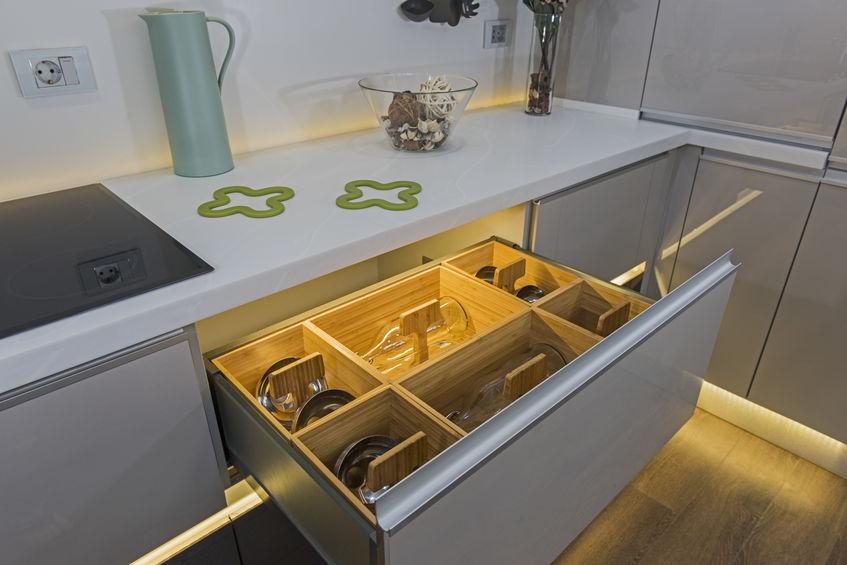 luci per cassetti cucina