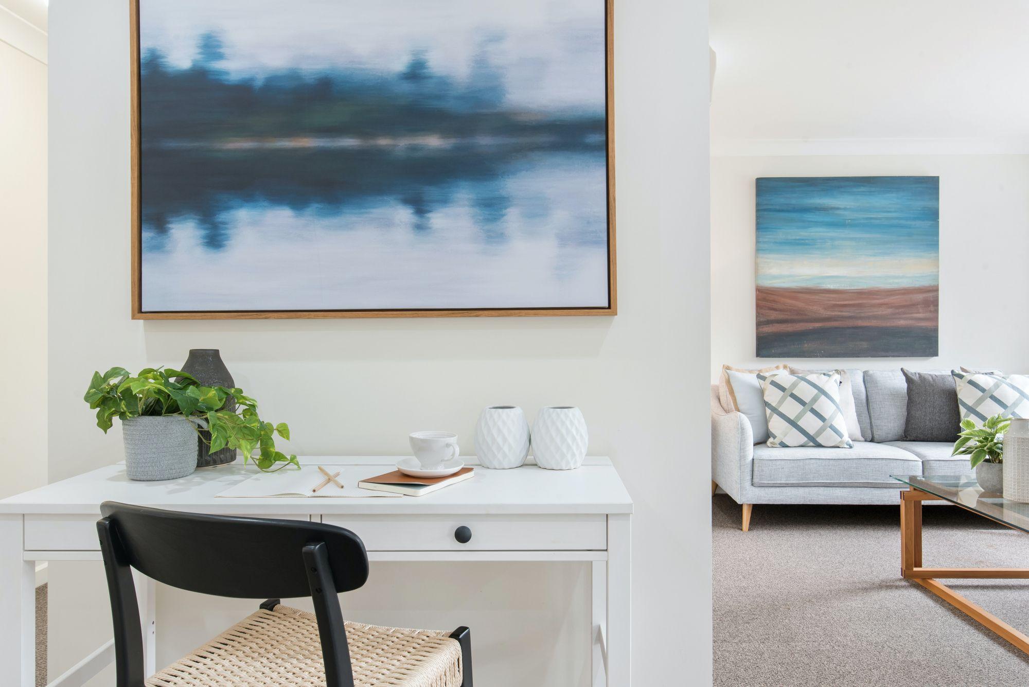 Come posizionare i quadri in casa