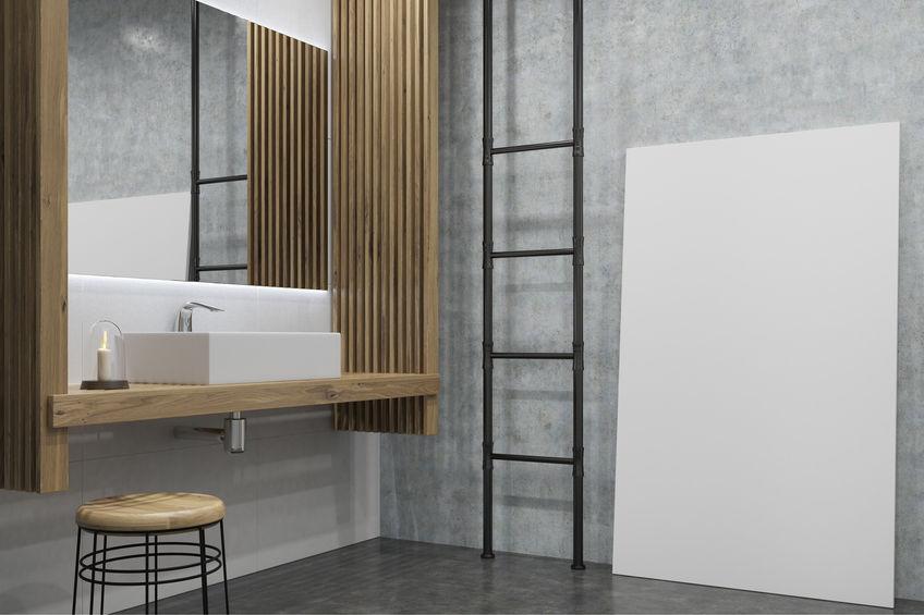 mobile lavabo bagno sospeso originale