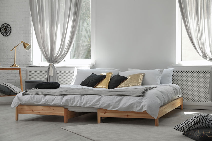 Materasso basso stile futon giapponese
