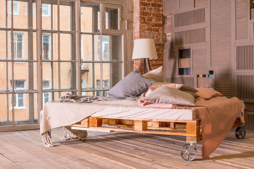 Materasso basso stile futon