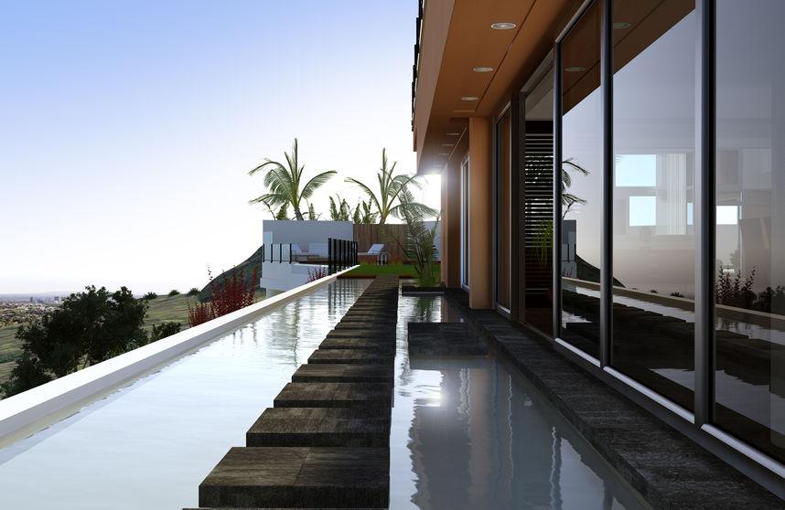 arredamento moderno terrazza