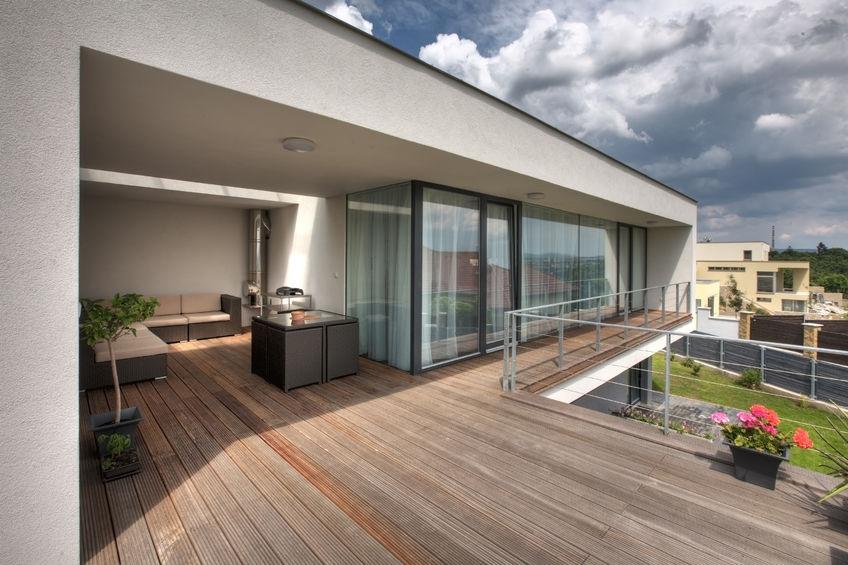 complementi d'arredo per terrazza moderna