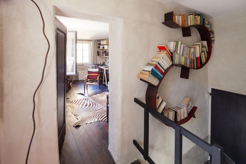 installare libreria sulle scale