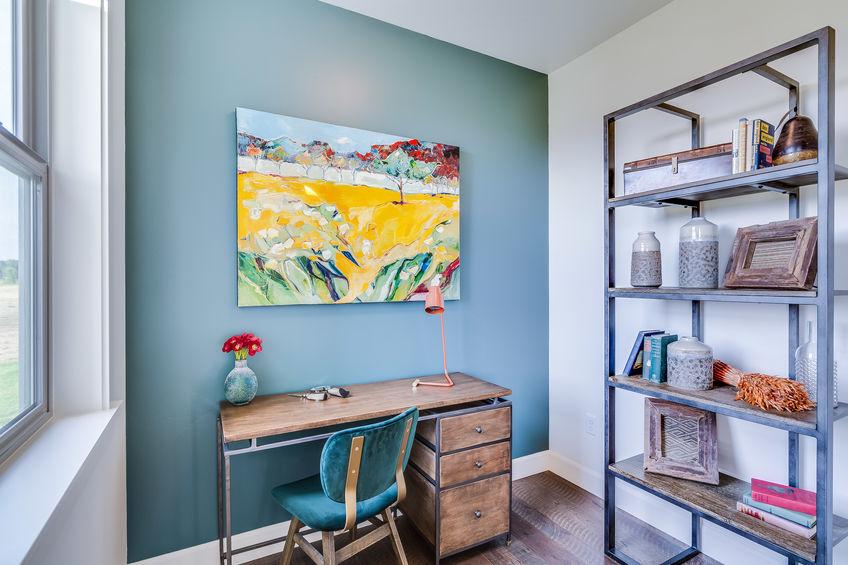 colori pareti per studio in casa