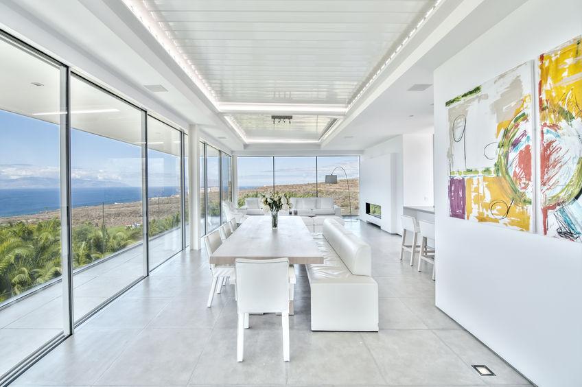 vetrate panoramiche trasparenti