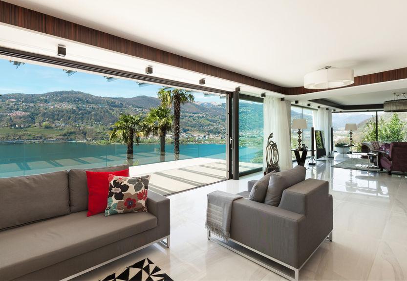 chiudere terrazza con vetrate panoramiche