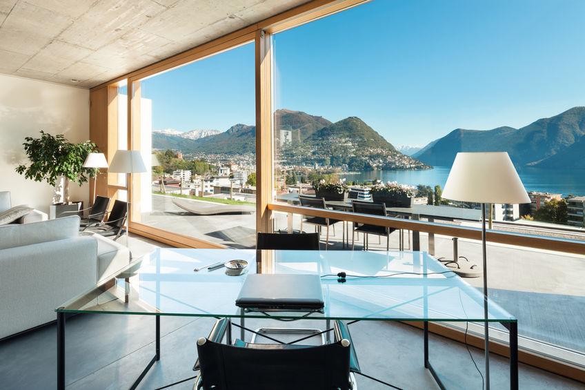 installazione vetrate panoramiche