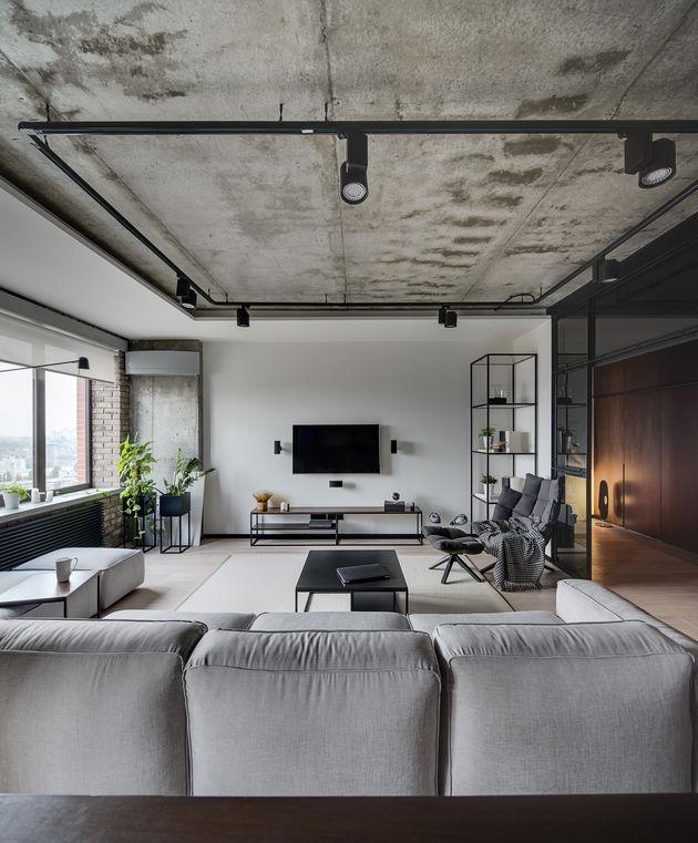 divano con moduli indipendenti