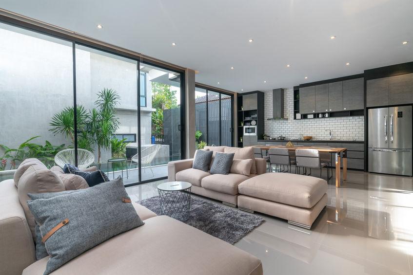 configurazioni per divani a isola