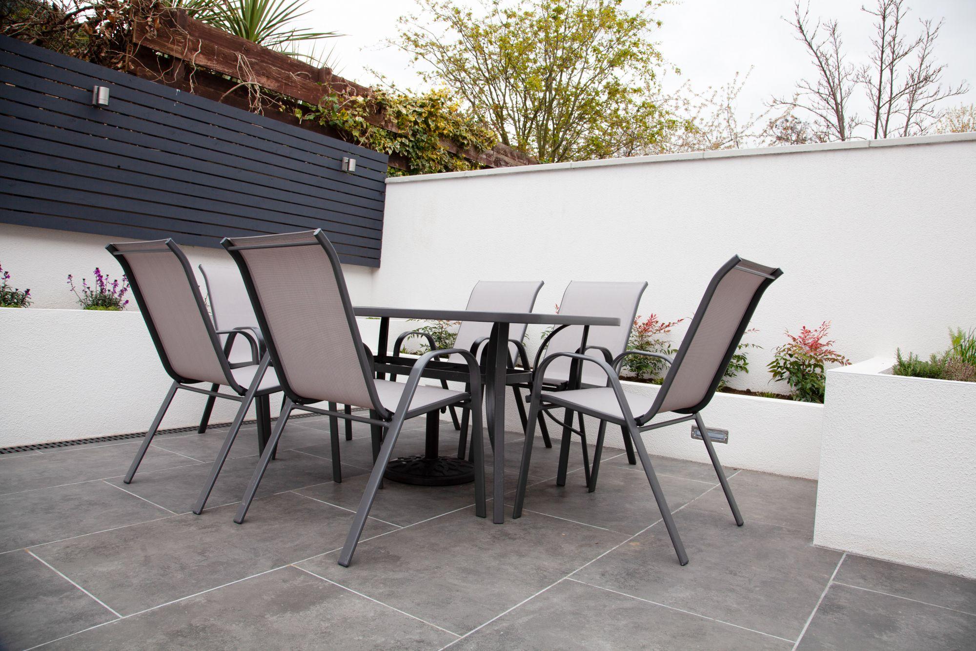 Tavolo da pranzo outdoor in alluminio