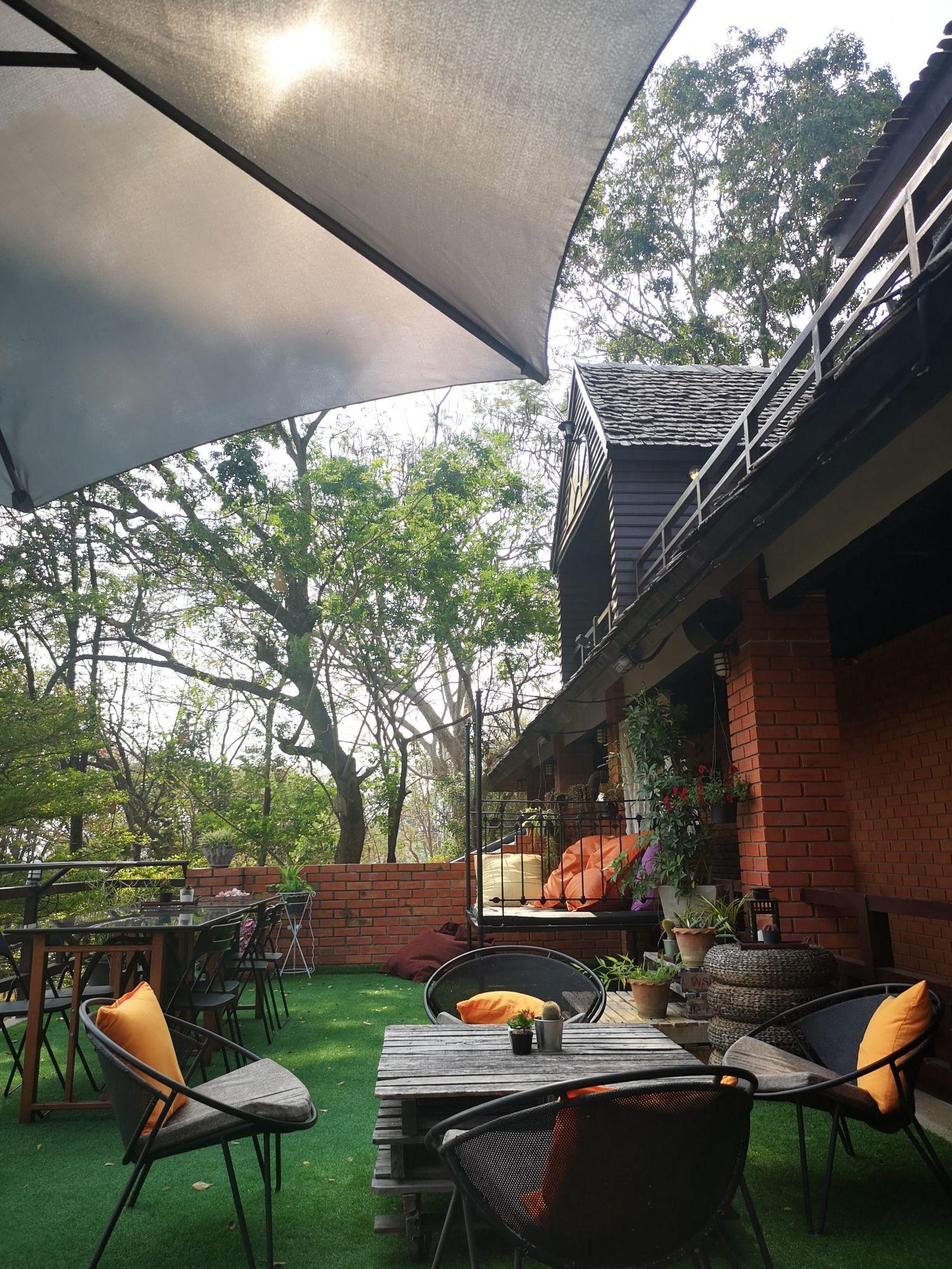 Tavolo da esterni per una sala da pranzo outdoor