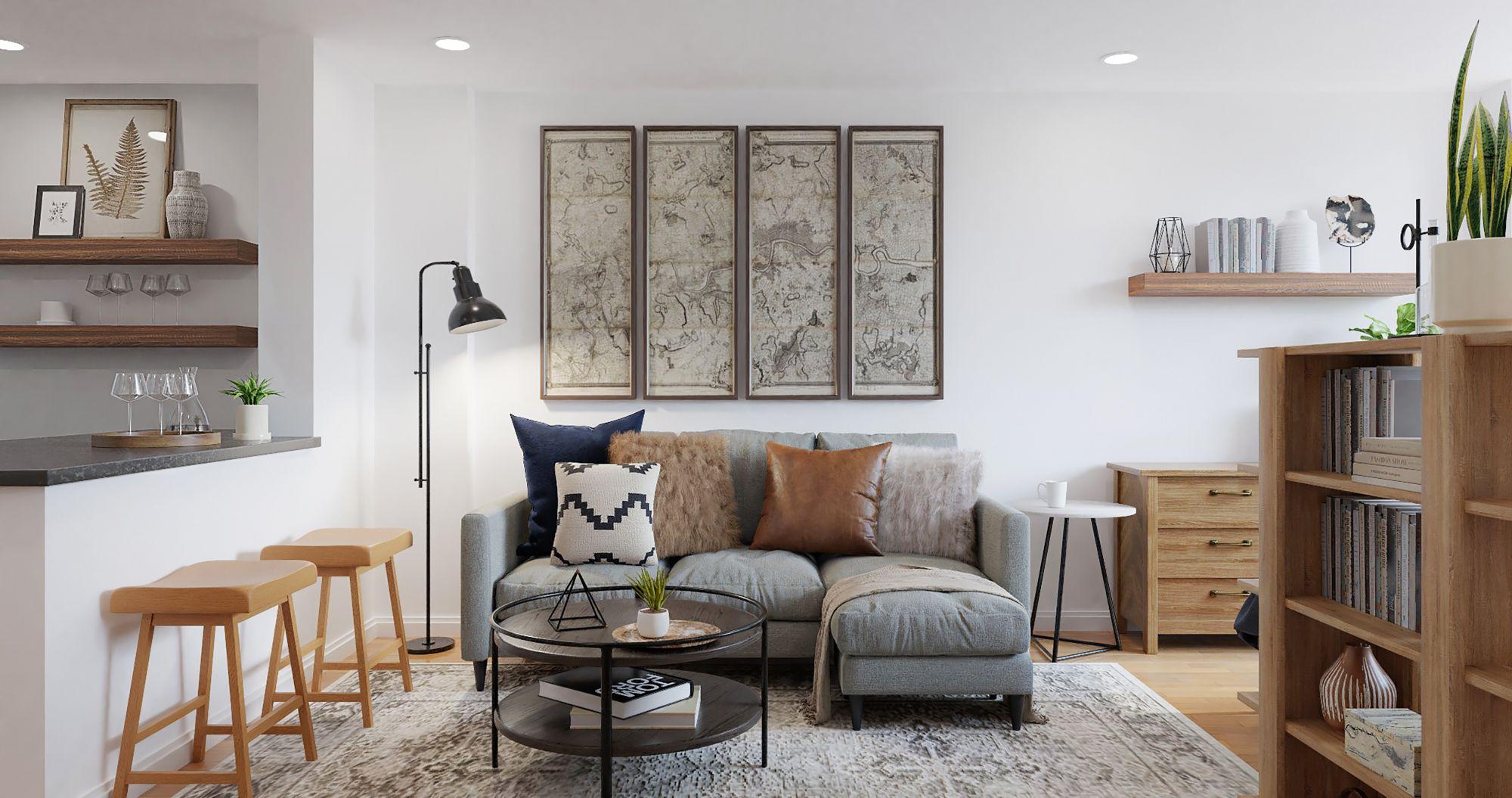 Affidarsi ad un designer d'interni per una casa trendy