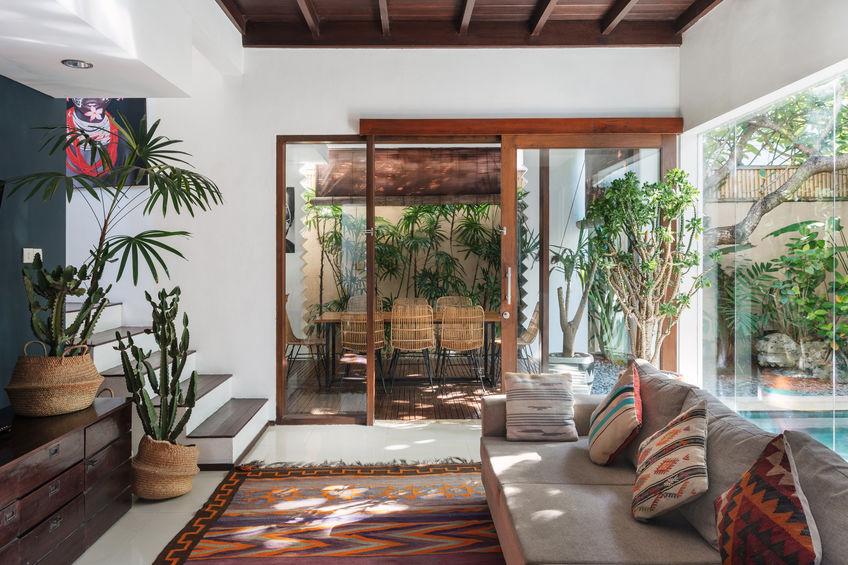 Boho jungle: una nuova tendenza di arredo per la casa