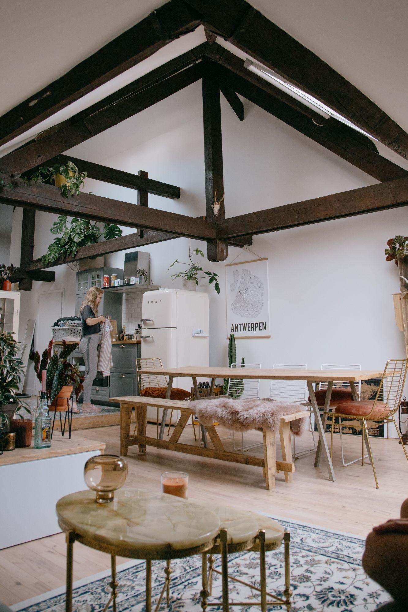 Stile bohemian jungle e arredi eclettici