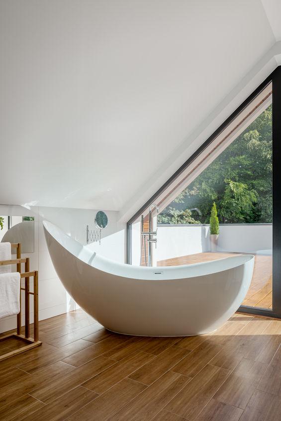 Arredo bagno: funzionale porta asciugamani