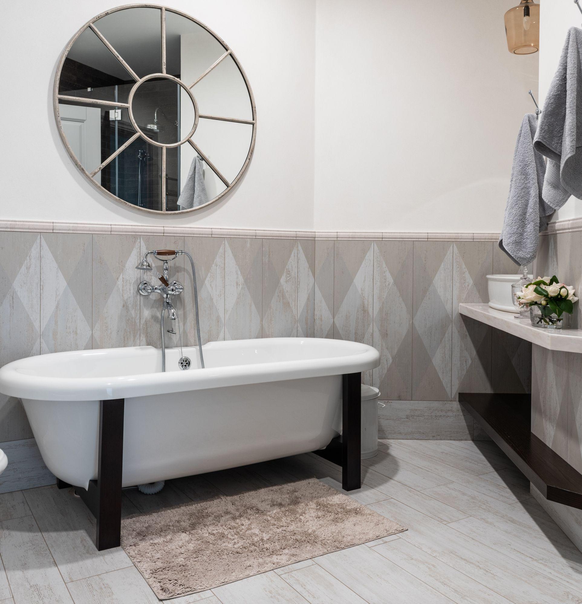 Arredo bagno: tappeto caldo e antiscivolo