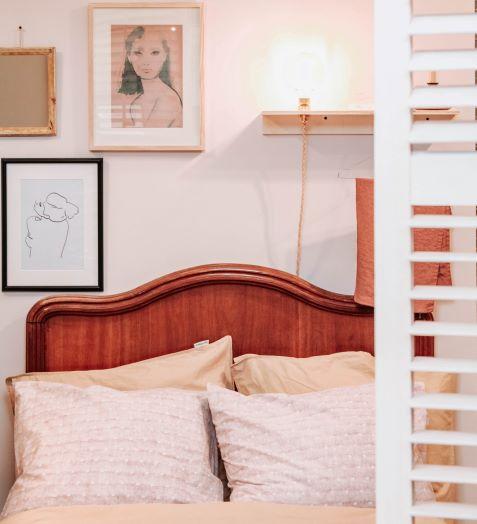 Arredare la camera da letto con una testiera in legno vintage