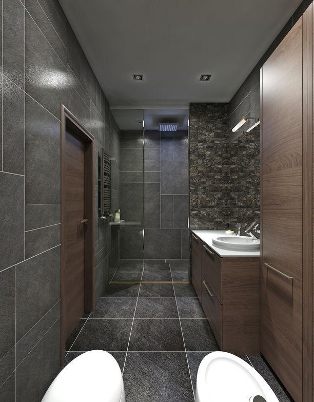 Come arredare ambienti lunghi e stretti: il bagno