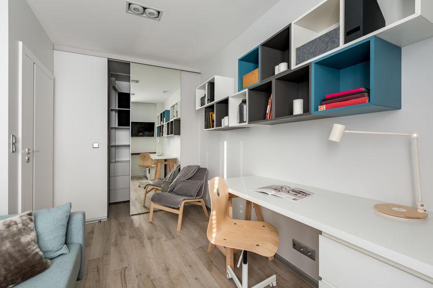 Come arredare ambienti lunghi e stretti: la camera per bambini