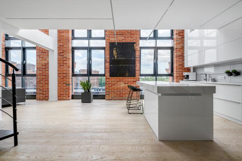 Loft in stile industriale: progetto e arredo