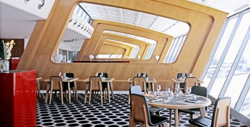 Archisio - Furrer - Progetto Melbourne airport qantas first lounge