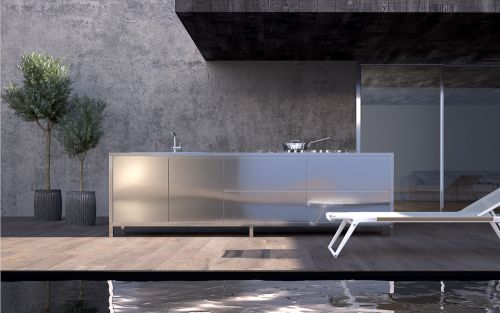 Archisio - Sizedesign Smart Kitchens Living - Progetto Cucine per esterno