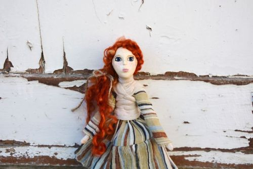 Archisio - Pupillae Art Dolls - Progetto Paper clay dolls mori girl art doll lucy