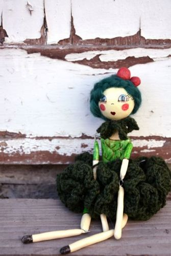 Archisio - Pupillae Art Dolls - Progetto Paper clay dolls ivy