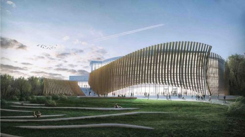 Archisio - Ati Project - Progetto National concert hall tautos namai