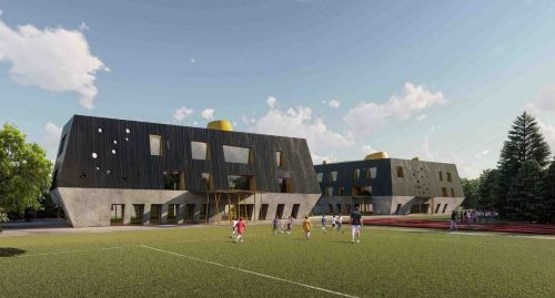 Archisio - Ati Project - Progetto Extension des ecoles de courrendlin