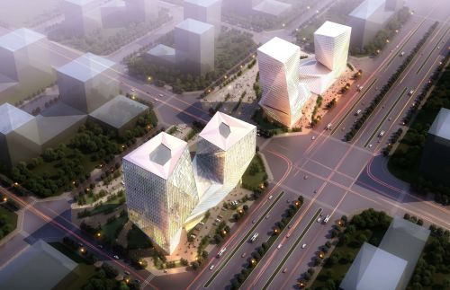 Archisio - Plasma Studio - Progetto Datong twins towers