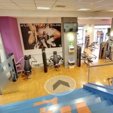 Archisio - Ivan Luminaria - Progetto H2o fitness center